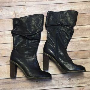 Calvin Klein Slouchy Heeled Boots
